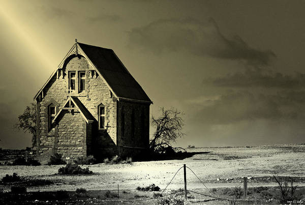 Church Art Print featuring the photograph Praying for Rain by Holly Kempe