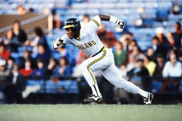 1980-1989 Art Print featuring the photograph Rickey Henderson by Ronald C. Modra/sports Imagery