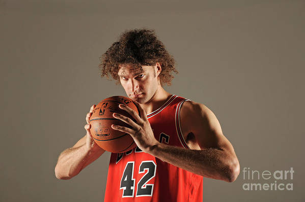 Media Day Art Print featuring the photograph Robin Lopez by Randy Belice