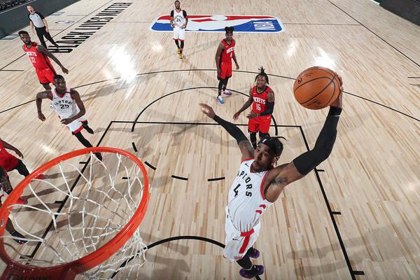 Nba Pro Basketball Art Print featuring the photograph Rondae Hollis-jefferson by Joe Murphy