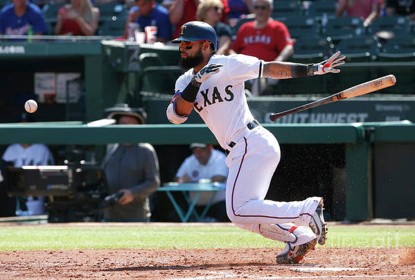 People Art Print featuring the photograph Rougned Odor by Ron Jenkins