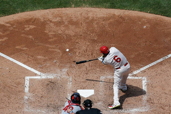 St. Louis Cardinals Art Print featuring the photograph Ryan Howard by Brian Garfinkel