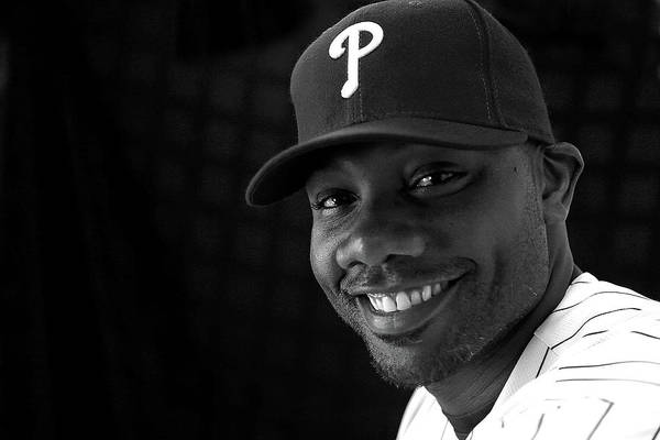 Media Day Art Print featuring the photograph Ryan Howard by Mike Ehrmann