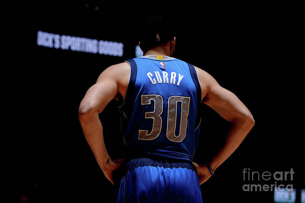 Nba Pro Basketball Art Print featuring the photograph Seth Curry by Bart Young