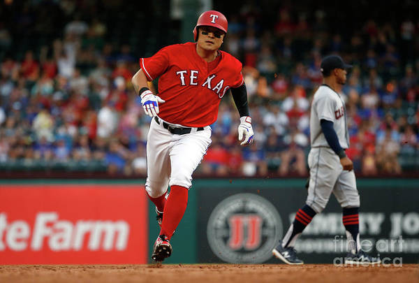 Second Inning Art Print featuring the photograph Shin-soo Choo by Ron Jenkins