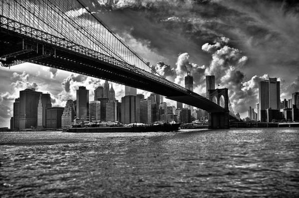 Scenics Art Print featuring the photograph Simply New York by Alessandro Giorgi Art Photography