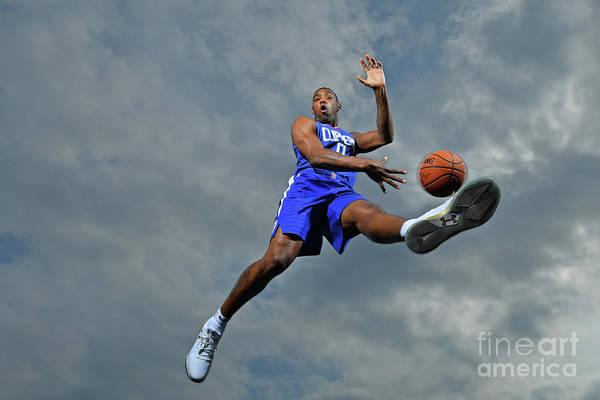 Nba Pro Basketball Art Print featuring the photograph Sindarius Thornwell by Jesse D. Garrabrant