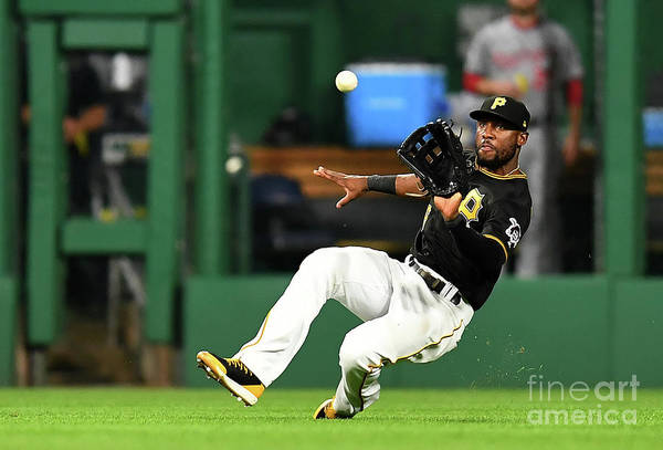 People Art Print featuring the photograph Starling Marte and Anthony Rendon by Joe Sargent