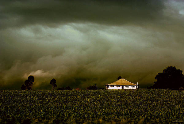 Landscape Art Print featuring the photograph Storm on the Rise by Holly Kempe