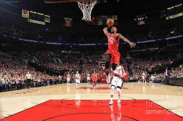 Nba Pro Basketball Art Print featuring the photograph Terrence Ross by Cameron Browne