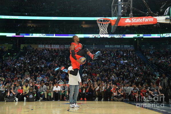 Smoothie King Center Art Print featuring the photograph Terrence Ross by Jesse D. Garrabrant