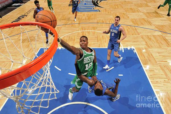 Nba Pro Basketball Art Print featuring the photograph Terry Rozier by Fernando Medina