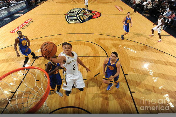 Smoothie King Center Art Print featuring the photograph Tim Frazier by Andrew D. Bernstein