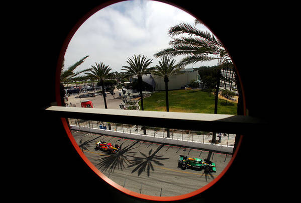 California Art Print featuring the photograph Toyota Grand Prix of Long Beach - Day 3 by Donald Miralle