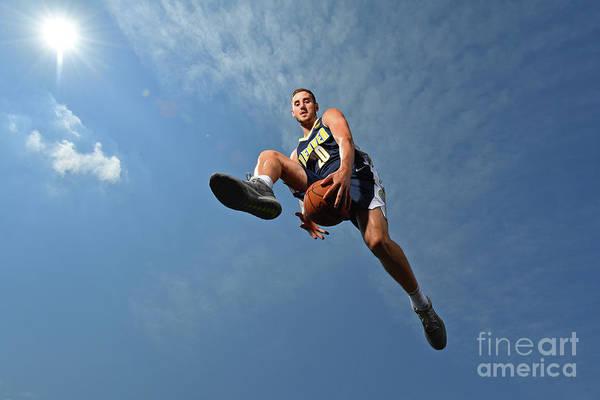 Nba Pro Basketball Art Print featuring the photograph Tyler Lydon by Jesse D. Garrabrant