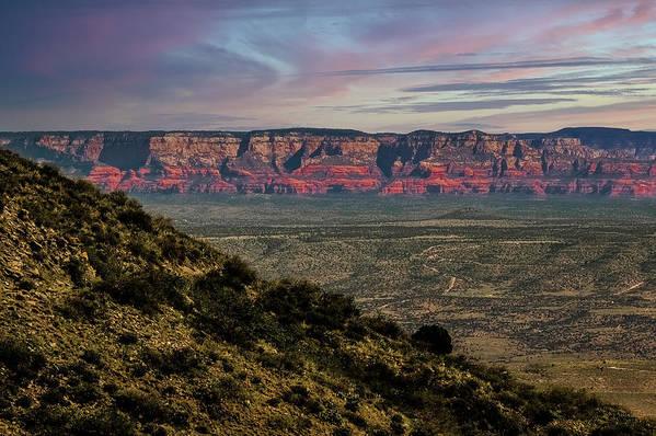 Landscape Art Print featuring the photograph Verde Valley Arizona by Jim Painter