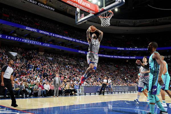 Nba Pro Basketball Art Print featuring the photograph Wilson Chandler by Jesse D. Garrabrant