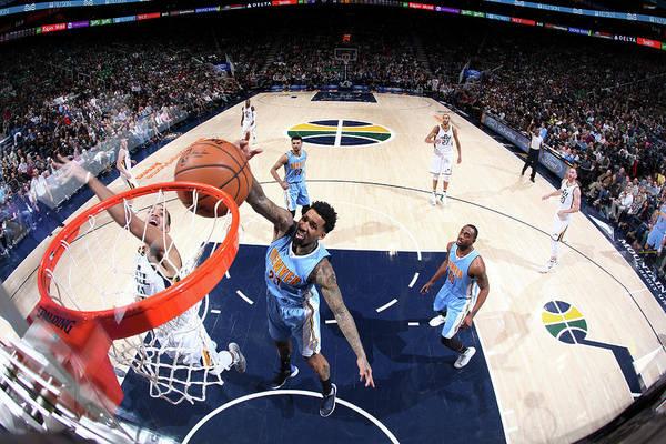 Nba Pro Basketball Art Print featuring the photograph Wilson Chandler by Melissa Majchrzak