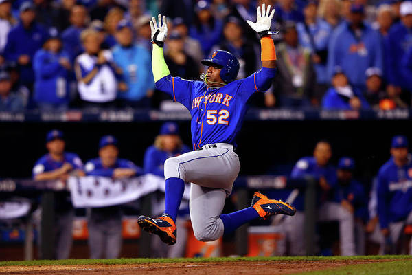 Yoenis Cespedes Art Print featuring the photograph Yoenis Cespedes by Jamie Squire