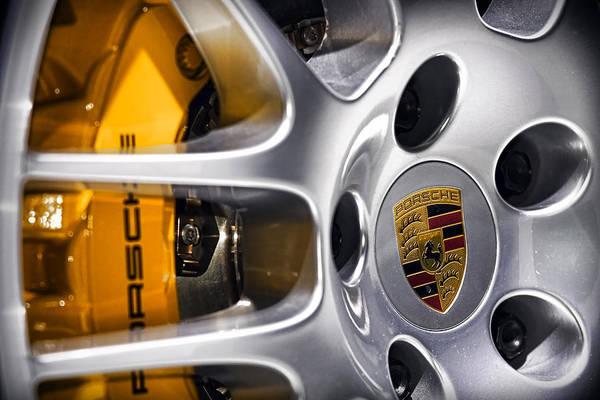 Porsche Art Print featuring the photograph Porsche Wheel by Gordon Dean II
