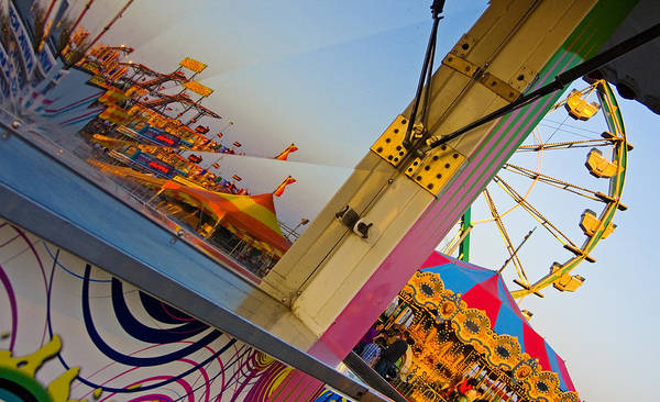 Carnival Art Print featuring the photograph Carnival 1 by Skip Hunt