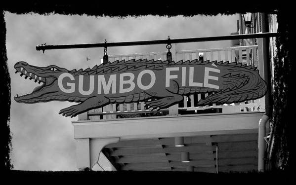 New Orleans Art Print featuring the photograph Gumbo File by Linda Kish