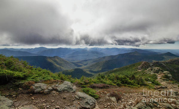 Franconia Ridge Art Print featuring the photograph The Pemi Wilderness by Diana Nault