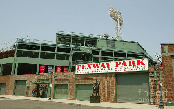 American League Baseball Art Print featuring the photograph Fenway Park by Getty Images