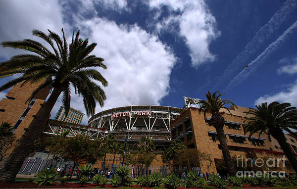 California Art Print featuring the photograph Los Angeles Dodgers V San Diego Padres by Donald Miralle