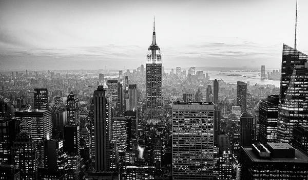 Outdoors Art Print featuring the photograph New York City by Randy Le'moine