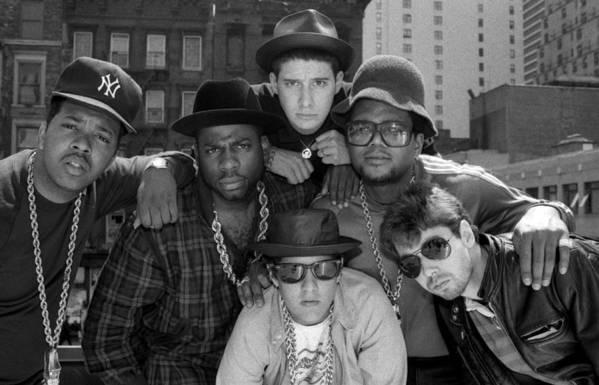 1980-1989 Art Print featuring the photograph Run-dmc & Beastie Boys by New York Daily News Archive