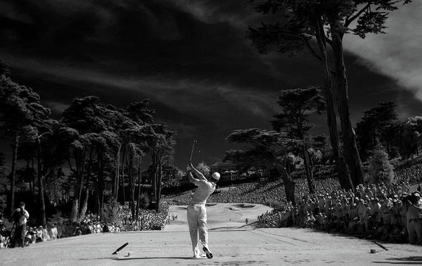 Tiger Woods Art Print featuring the photograph U.s. Open - Round Three by Jeff Gross
