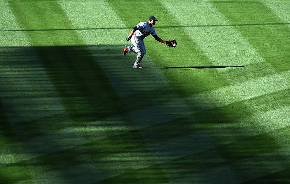 Second Inning Art Print featuring the photograph Anthony Gose by Harry How