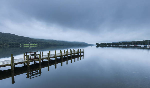 Dawn Art Print featuring the photograph Coniston Water at dawn by © Ian Laker Photography