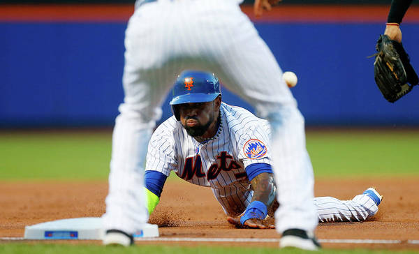 American League Baseball Art Print featuring the photograph Jose Reyes by Jim Mcisaac