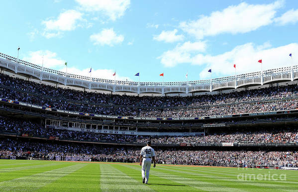 American League Baseball Art Print featuring the photograph Mariano Rivera by Elsa