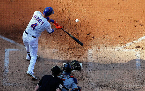People Art Print featuring the photograph Wilmer Flores by Jim Mcisaac