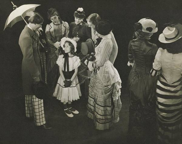 Theater Art Print featuring the photograph Performance Of As Thousands Cheer by Edward Steichen