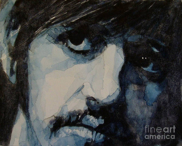 Ringo Starr  Art Print featuring the painting Ringo by Paul Lovering
