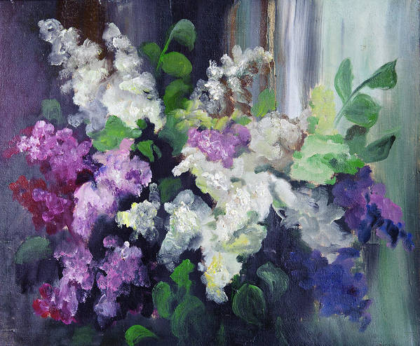 Art Art Print featuring the digital art Composition Of Lilac by Balticboy