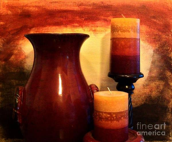 Photo Art Print featuring the photograph Red Gold by Marsha Heiken