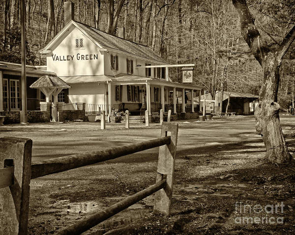 Valley Green Inn Art Print featuring the photograph Valley Green Inn 2 by Jack Paolini