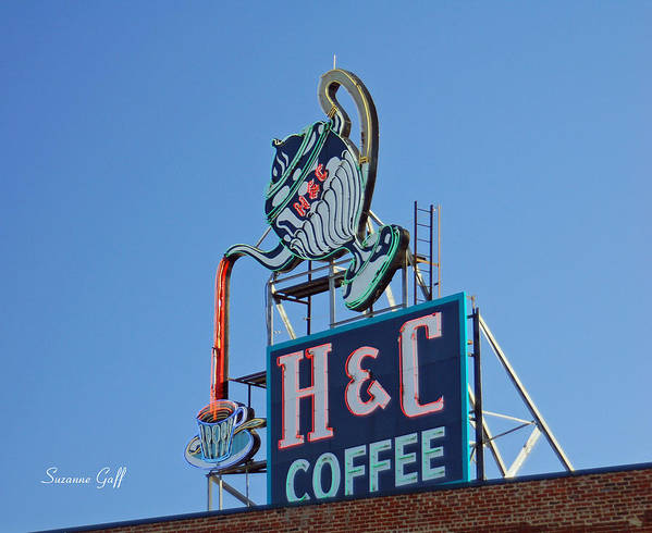 H & C Coffee Art Print featuring the photograph Americana Series III by Suzanne Gaff