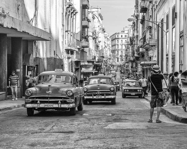 Cuba Art Print featuring the photograph Back to the Past by Marla Craven