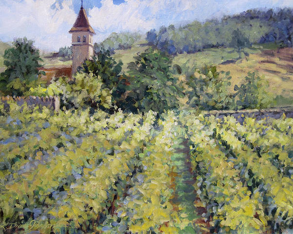 France Art Print featuring the painting Bless The Harvest by L Diane Johnson