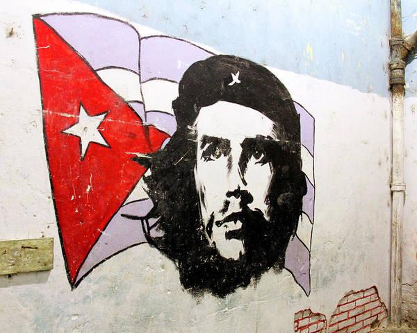 Cuba Art Print featuring the photograph Che Guevara by Marla Craven