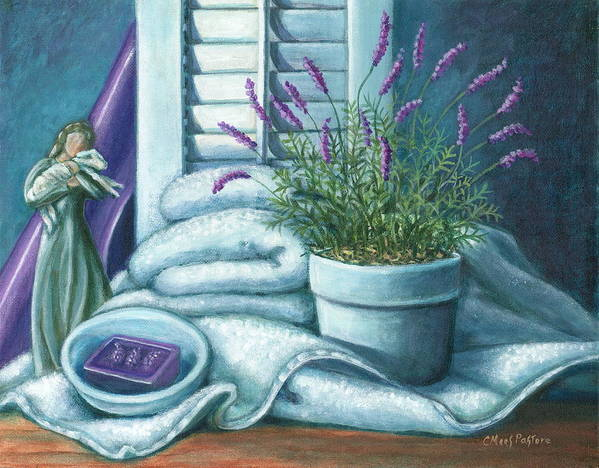Painting Art Print featuring the painting Comfort by Colleen Maas-Pastore