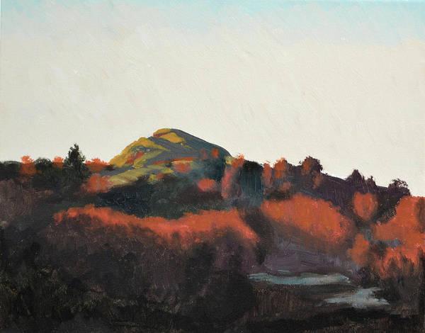 Bergen Art Print featuring the painting Drotningsvik by Arild Amland