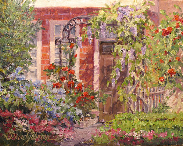 Impressionism Art Print featuring the painting Flavor of England by L Diane Johnson