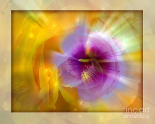 Flower Art Print featuring the photograph Good Morning Sunshine by Chuck Brittenham